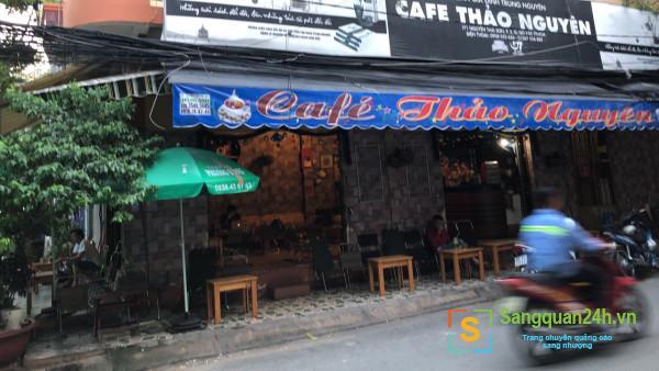 Cần sang nhanh quán cafe mặt tiền đường lớn, rộng, thoáng mát, nhiều cây xanh, dân cư đông đúc, trung tâm quận Gò Vấp.