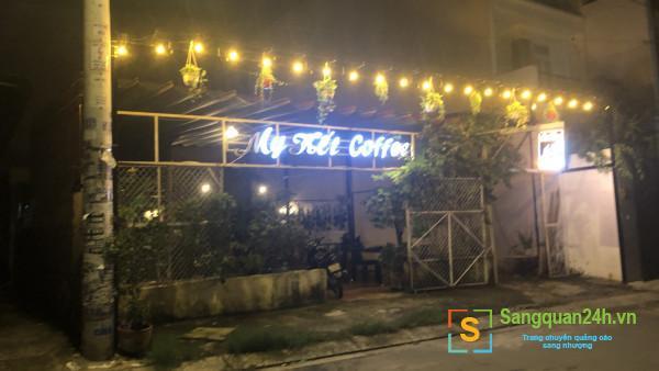Cần sang quán cafe nằm khu dân cư đông đúc, trung tâm quận 12.
