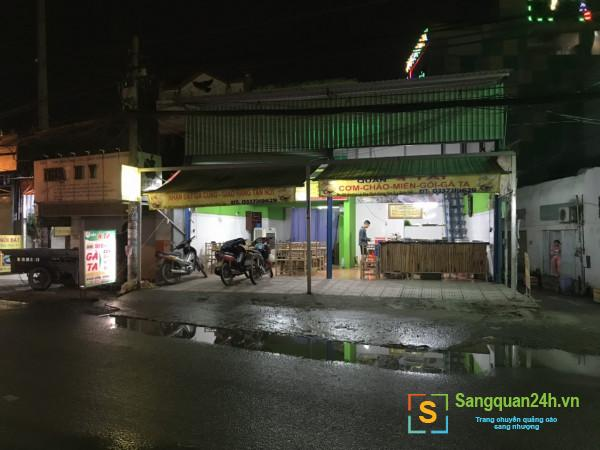 Sang nhượng quán ăn nằm mặt tiền đường Hương Lộ 80, phường Bình Hưng Hoà B, quận Bình Tân.