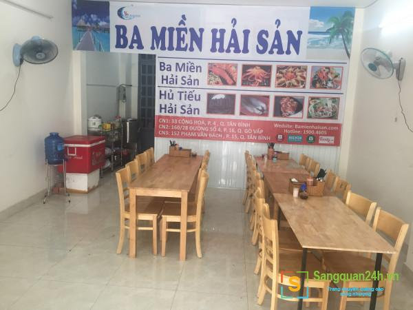 Sang quán hủ tiếu mực hoặc cho thuê mặt bằng tại đường Phạm Văn Bạch, phường 15, quận Tân Bình.