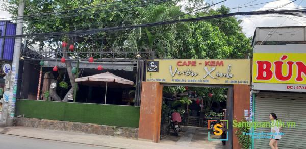 Sang quán cafe đã hoạt động được 10 năm.