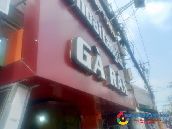 Cần sang quán gà rán mặt tiền đường Phan Văn Trị, quận Bình Thạnh .