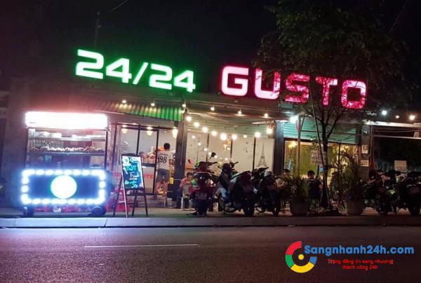 Cần sang quán cafe mặt tiền đường Man Thiện, quận 9.